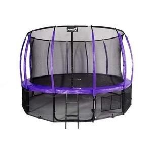 Jumpi zahradní trampolína Maxy comfort plus s vnitřní sítí 487cm/16FT fialová