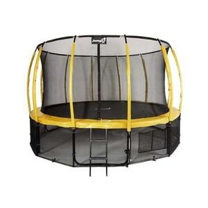 Jumpi zahradní trampolína Maxy comfort plus s vnitřní sítí 487cm/16FT žlutá