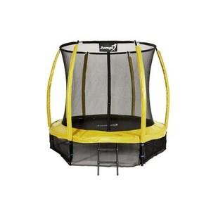 Jumpi zahradná trampolína Maxy comfort plus s vnútornou sieťou 252cm / 8FT žltá
