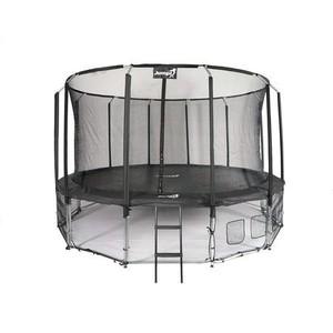 Jumpi zahradní trampolína s vnitřní sítí  Maxy comfort 487cm/16FT černá
