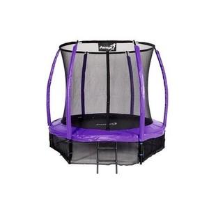 Jumpi zahradní trampolína Maxy comfort plus s vnitřní sítí 252cm/8FT fialová