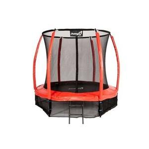 Jumpi zahradná  trampolína Maxy comfort plus s vnútornou sieťou 252cm / 8FT červená