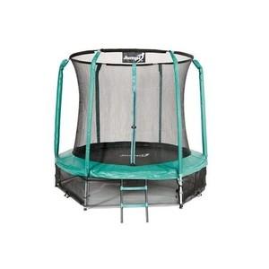 Jumpi zahradní trampolína Maxy comfort s vnitřní sítí 244cm/8FT zelená