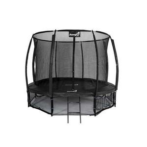 Jumpi záhradná trampolína Maxy comfort plus s vnútornou sieťou 312 / 10ft čierna