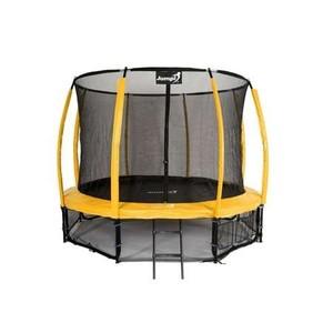Jumpi zahradní trampolína Maxy comfort plus s vnitřní sítí 435cm/14FT žlutá