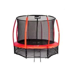 Jumpi zahradní trampolína Maxy comfort plus s vnitřní sítí 435cm/14FT červená