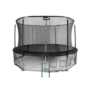Jumpi zahradní trampolína Maxy comfort  s vnitřní sítí 435cm/14FT černá