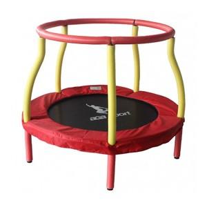 Aga Detská trampolína 116 cm červeno / žltá