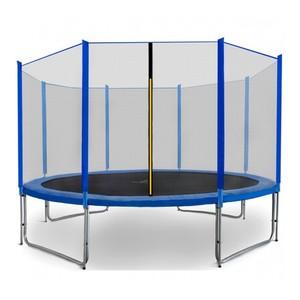 Spartan Trampolína 487 cm modrá + ochranná síť + žebřík