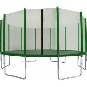 Aga SPORT TOP Trampolína 518 cm tmavě zelená + ochranná síť