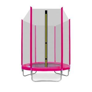 Aga SPORT TOP Trampolína 150 cm ružová + ochranná sieť