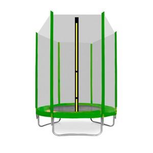 Aga SPORT TOP Trampolína 150 cm světle zelená + ochranná síť