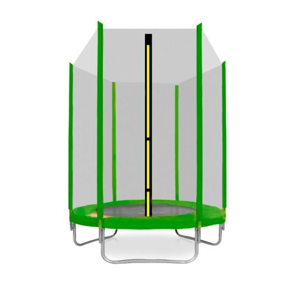 Aga SPORT TOP Trampolína 150 cm zelená + ochranná síť