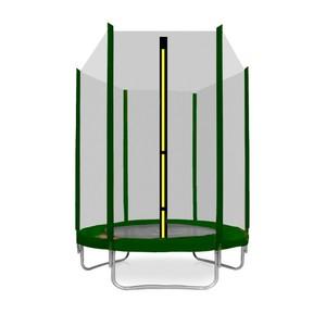 Aga SPORT TOP Trampolína 150 cm tmavě zelená  + ochranná síť
