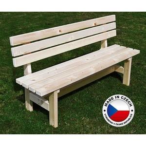 Lavička dřevěná masiv TOHOS