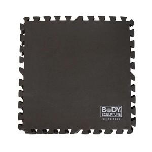 BODY SCULPTURE - BB 8340B - Ochranná podložka puzzle čierna 60x60cm 4 ks.