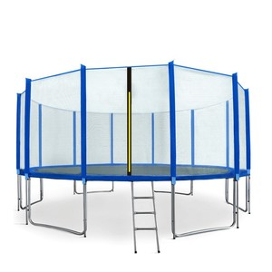 Aga SPORT PRE Trampolína 500 cm modrá + ochranná sieť + rebrík + vrecko na obuv