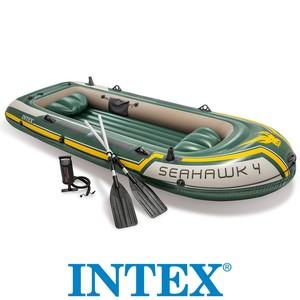 Čln SEAHAWK 4 + pádla + pumpa 351cm INTEX 68351