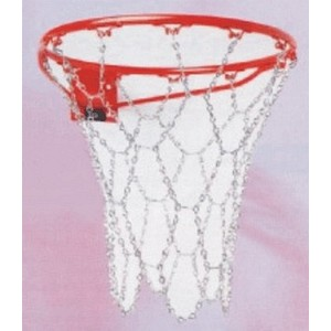 Síťka basketball řetízek kov