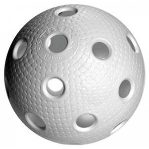 Floorballový míček  TRIX IFF bílý