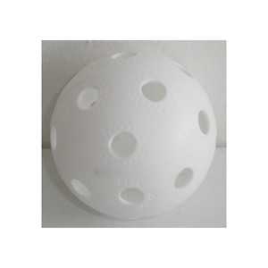 Florbalový míček PROFESSION bílý