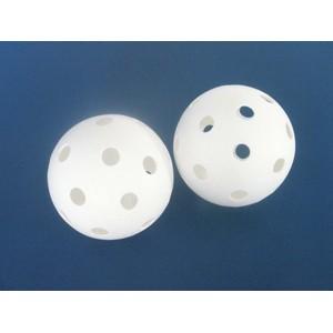 Florbalový míček UNIHOC bílý